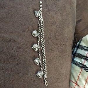 Brighton multi heart bracelet